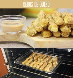 Ricos dedos de queso caseros! #TutoCG