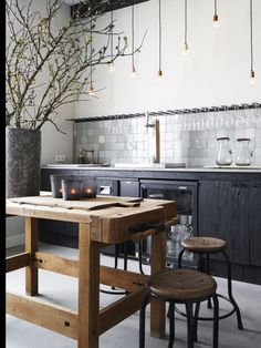 kitchen inspiration by Restaurant Den Burgh