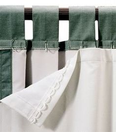 panels with blackout lining | Euro-Premium Blackout Drapery Liner 2 Panels Package -... review at ...