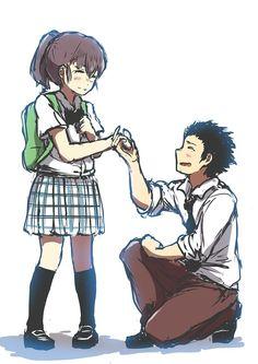 Ishida y Shouko // Koe no Katachi