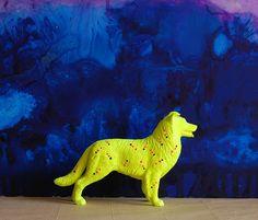 dog yellow/the strange planet. $40.00, via Etsy.
