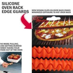 Amazon.com: Silicone Oven Rack Guards, Set of 2 by WalterDrake: Kitchen & Dining