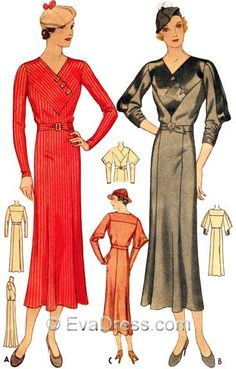 EvaDress: A Few Pattern Revisions, re: Size sets