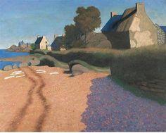 Félix Vallotton, Landscape at Loguivy, 1923