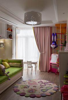 Квартира для семьи с маленькой дочкой. Проект студии U-Style