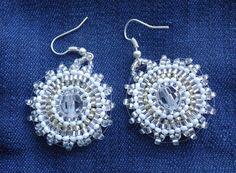 Beaded earrings...Ar-Mari Rubenian