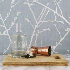 I've just found Personalised Monogrammed Glass Decanter. A stylish personalised monogrammed glass decanter bottle. £25.00