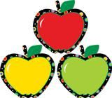 Apples Poppin' Patterns Cut Outs