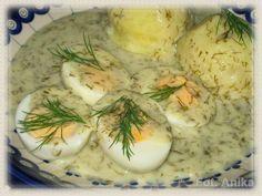 Domowa kuchnia Aniki: Sos koperkowo-chrzanowy