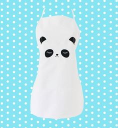 Panda Apron by emandsprout  $14