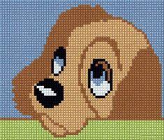 New Crochet Patterns Disney Blanket Ideas Knitting Charts, Baby Knitting Patterns, Knitting Stitches, Crochet Patterns, Embroidery Patterns, Hand Embroidery, Crochet Pixel, Disney Diy Crafts, Dog Pattern