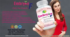 Herbal Cure for Infertility, Ayurvedic Medicines, Natural Treatment ::   Women suffering from infertility due to ovulation problem are usually treated with herbal remedy for regulating the menstrual cycle and ovulation in women.  Take my 100% pure Embryon F Capsule and Get 100% Result without any Side Effect.  Consult Me Privately :: https://about.me/Dr.sanjeev  Toll free Number :: 18002-585877  Contact & Whatsapp :: +91-9720612805 Email :: sukhsanjivaniayurved@gmail.com