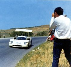 Chaparral 2F at Targa Florio. 1967.