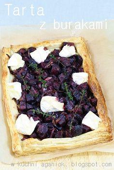 W kuchni Aganiok: Tarta z burakami i serem camembert Camembert Cheese, Pizza, Mexican, Ethnic Recipes, Food, Pies, Essen, Meals, Yemek
