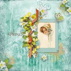 Springtime Pleasure [Page Kit] by Vero The French Touch https://www.digitalscrapbookingstudio.com/personal-use/kits/springtime-pleasure-page-kit/