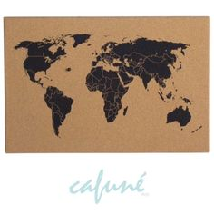 World map cork board use pins to document our adventures travel world map cork board use pins to document our adventures travel wanderlust house re do my room pinterest cork boards cork and desks gumiabroncs Image collections