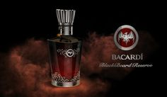 Ultra premium limited edition Rhum bottle design for BACARDI
