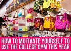 7 Ways to Motivate Yourself to Use the College Gym This Year