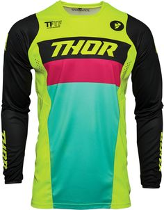 Motocross, New Thor, Neon Noir, Pulsar, Motorcycle Outfit, Pink Turquoise, Summer Sale, Modern Fashion, Neon Green