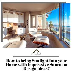 If you are looking for inspiration for designing your sunroom, we have put together great Sunroom Design Ideas that will transform your home. Architecture Facts, Unique Home Decor, Home Decor Accessories, Sunroom, Bones, Period, Lounge, Weather, Design Ideas