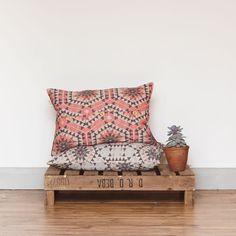 House of Rym Cushion Cover - Heavenly Honeycomb/Rose