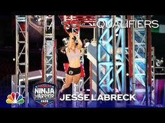 Jesse Labreck Makes Ninja History - American Ninja Warrior Qualifiers 2020 - YouTube American Ninja Warrior, History, Youtube, How To Make, Historia, Youtubers, Youtube Movies