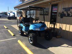 Custom painted E-Z-GO RXV Cart!!!! $5295