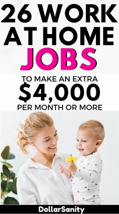 Looking for legitimate ways to make money from home? We've got you covered. Here are the best side hustles and online jobs to help you make extra money from home. Make Money Today, Money Saving Mom, Make Money From Home, Way To Make Money, Jobs From Home Legit, Legit Online Jobs, Online Jobs For Moms, Online Work, Make Money From Pinterest