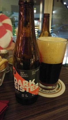 Beer Project Brussels- Dark Sister, Belgian Black Ipa