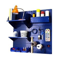 Special Offers - Wall Control Hobby Craft Pegboard Organizer Storage Kit Blue - In stock & Free Shipping. You can save more money! Check It (May 01 2016 at 07:33PM) >> http://storagecabinetusa.net/wall-control-hobby-craft-pegboard-organizer-storage-kit-blue/