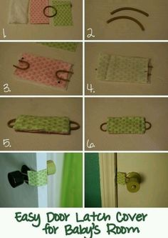 Door latch cover