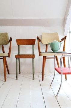 old . chairs .