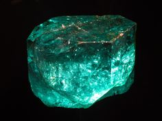 The Gachala Emerald is one of the largest gem emeralds in the world, at 858 carats (172 g). This stone was found in 1967 at La Vega de San Juan mine in Gachalá, Colombia. It is housed at the National Museum of Natural History of the Smithsonian Institution in Washington, D.C