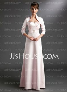 Mother of the Bride Dresses - $132.99 - A-Line/Princess Sweetheart Floor-Length Satin Mother of the Bride Dress With Ruffle (008006237) http://jjshouse.com/A-Line-Princess-Sweetheart-Floor-Length-Satin-Mother-Of-The-Bride-Dress-With-Ruffle-008006237-g6237