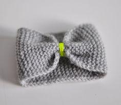 DIY : Tutoriel manchette noeud au tricot | Julypouce tricote