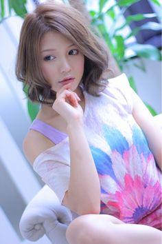 short/medium Japanese hairstyle