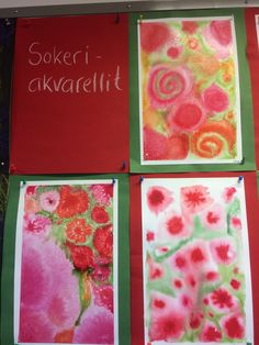 Crafts For Seniors, Art Plastique, Painting & Drawing, Art For Kids, Watercolor, Halloween, Drawings, Crochet, School