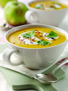 Spiced Carrot, Bramley Apple and Lentil Soup | Bramley Apples