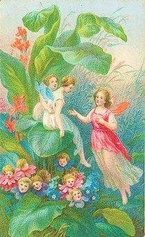 . Vintage Fairies, Vintage Art, Gossamer Wings, Decoupage, Fairytale Art, Beautiful Fairies, Flower Fairies, Fairy Art, Faeries