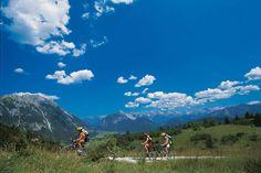 Mountainbike-Urlaub im Hotel Interalpen
