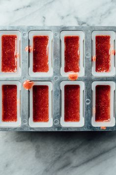 Strawberry Lavender Popsicles   TENDING the TABLE