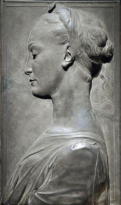eccellenze-italiane:  Desiderio da Settignano Young Woman, 1460-80 by Mr. History on Flickr.