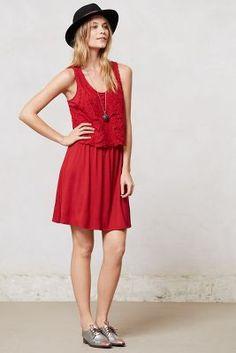 Geranium Crochet Dress