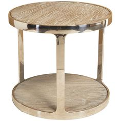 Interlude Home Soto Round Side Table