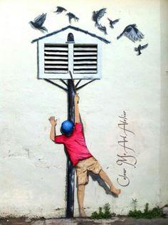 Penang Street Arts.