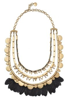Feather Plume Necklace  Stella & Dot