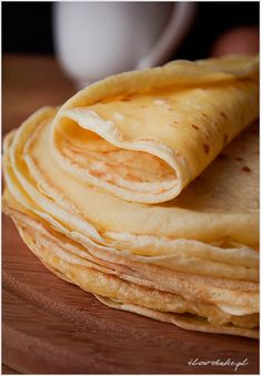 Crepes how to make perfect and delicious - recipe step by step Recipe Steps, Crepes, Tiramisu, Cooking Recipes, Yummy Food, Ethnic Recipes, Pancakes, Cooker Recipes, Delicious Food