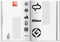 Logo Modernism, the Taschen book, by Jens Müller Logo Design Love, Corporate Logo Design, Corporate Identity, Logo Design Inspiration, Brand Design, Visual Identity, Graphic Design Books, Book Design, Create Your Own Comic