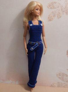Barbie overalls from: ВЯЗАНИЕ. ХВАСТИКИ УЧАСТНИКОВ ГРУППЫ. | 86 фотографий