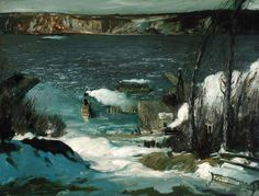 North River George Bellows http://www.wikiart.org/en/george-bellows/north-river-1908…